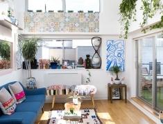 家有绿叶墙!曼哈顿 21 坪双人时髦清新宅
