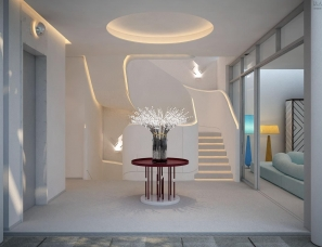 孟也设计--三亚钻石海岸S5B别墅600m²设计方案
