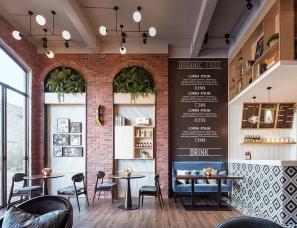 太合南方设计--广西贺州钟山彰泰城咖啡厅