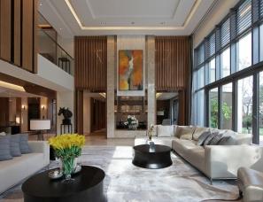 上海亚邑设计--650m²华侨城10号院D户型样板房
