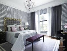 【色彩家】高级灰卧室,最是那一低头的温柔