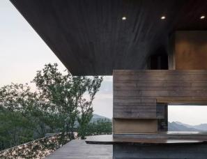 梁建国设计--伏羲山美景·素心园展示中心及别墅样板间
