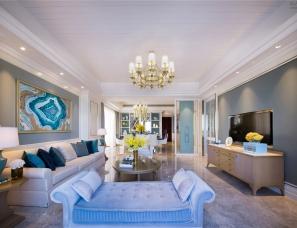 广州奥迅设计--浪漫爱琴海 天池公寓270A户型