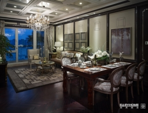 戴昆设计--星泰北京阳光上东样板房