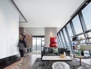 岳蒙设计--上海岳蒙设计自用办公室,附三种平面方案