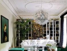 【色彩家】翡翠绿客厅,一缕清泉荡漾心间