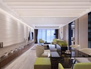 深圳昊泽空间设计--中洲天御二期样板房E-1户型