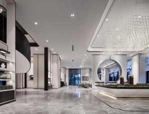 奥迅设计--厦门中海上湾销售中心
