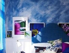 【色彩家】代尔夫特蓝卧室,难以抗拒的优雅格调