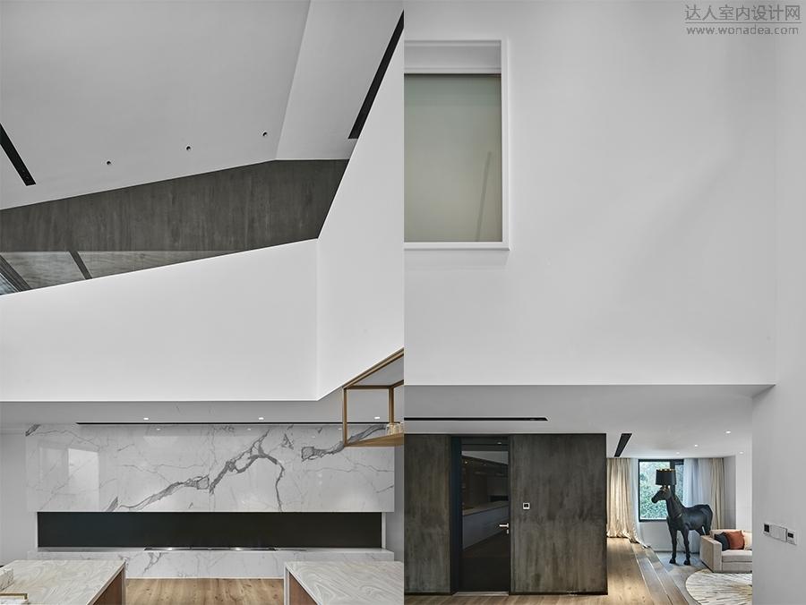 墙壁有意保持简洁  搭配上素雅、简约的家具  给人一种宁静、祥和的感觉
