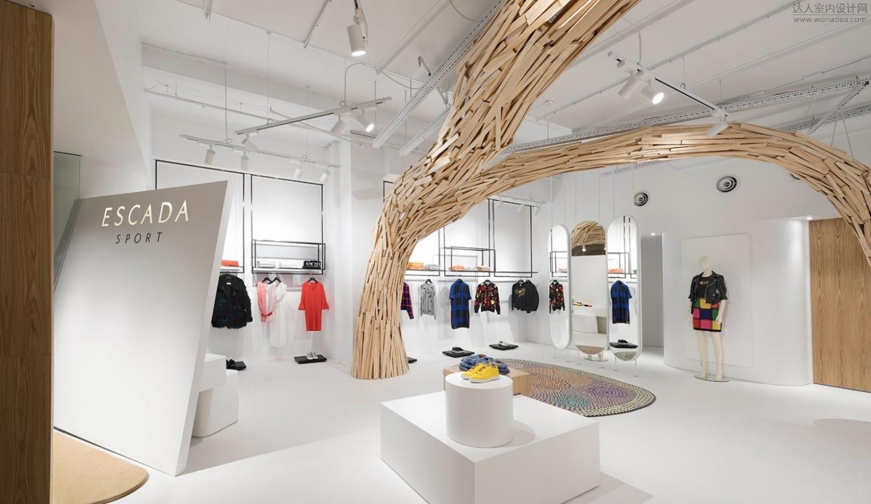 StudioMKZ--如画廊一般的悉尼Escada Sport旗舰店