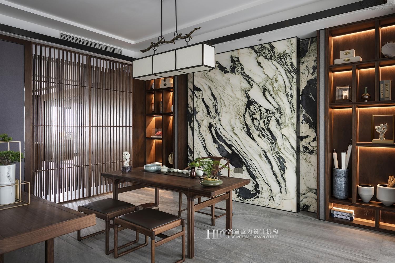 HDC瀚笙室内设计--重庆市江北区私宅400㎡
