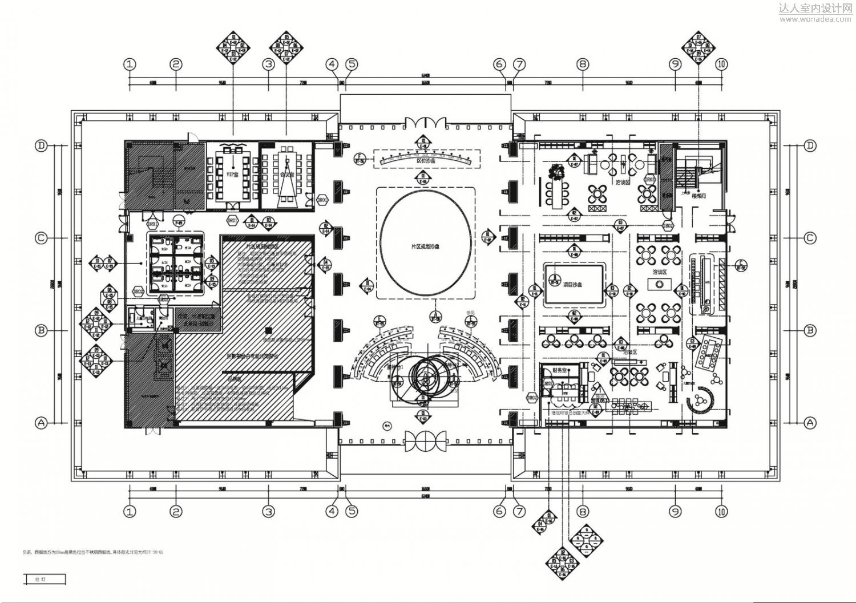 """INHOUSE设计--万科时代之光售楼处""""大河时代"""""""