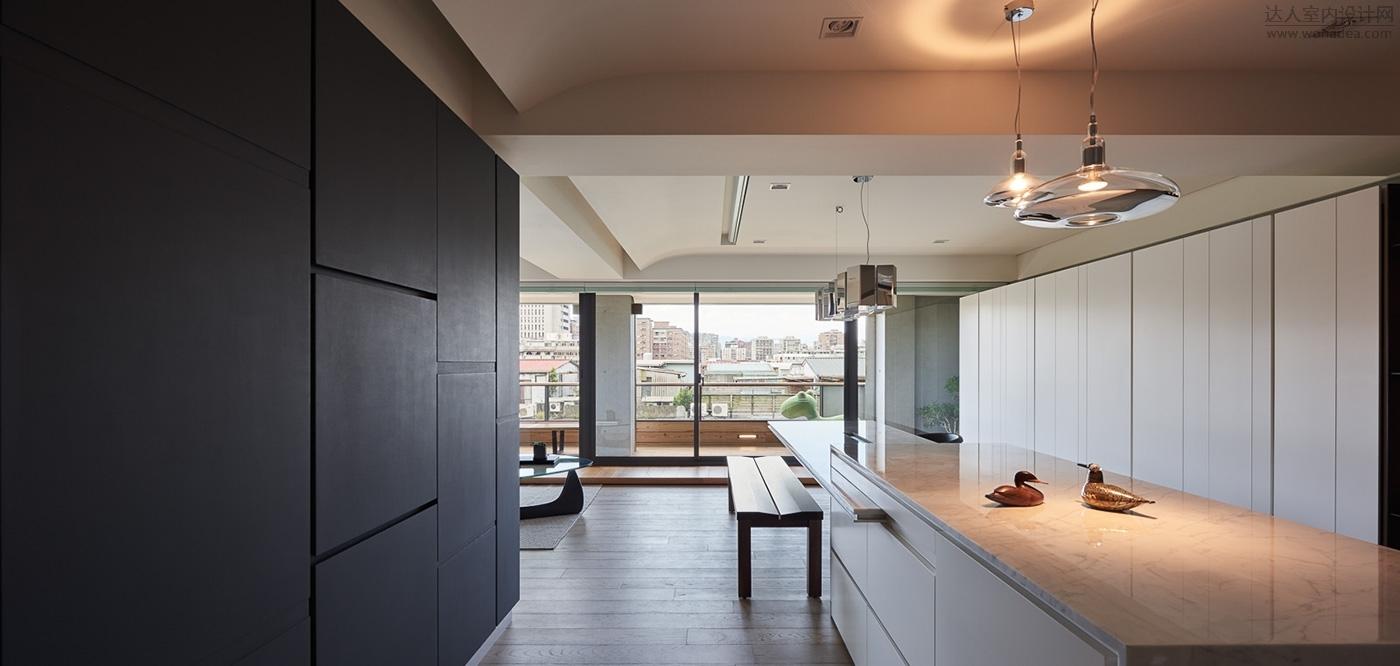 虫点子创意设计--台湾北欧风住宅