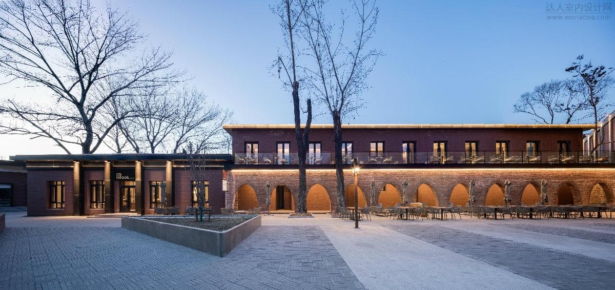北京山房筑艺术设计--老港路餐厅