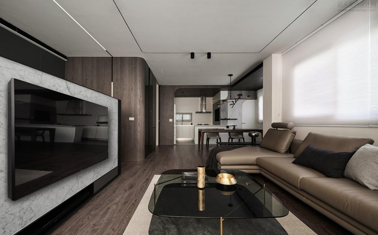 新澄设计 | 38坪1人住的简约住宅