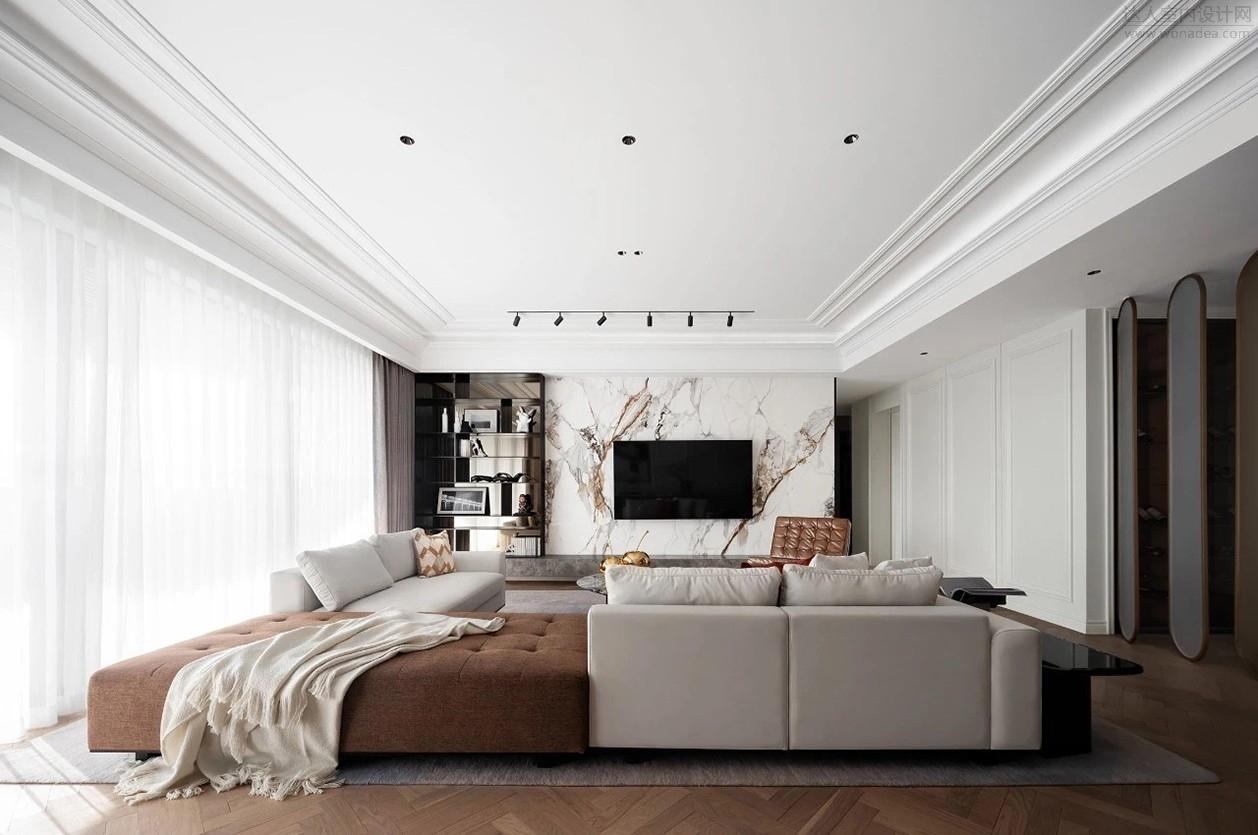 尚诺柏纳+伶居设计--广州花都都湖国际二期样板房602户型