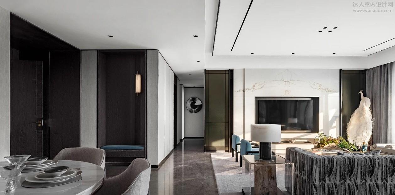 奥迅设计+伶居设计--广州花都都湖国际二期样版房601户型