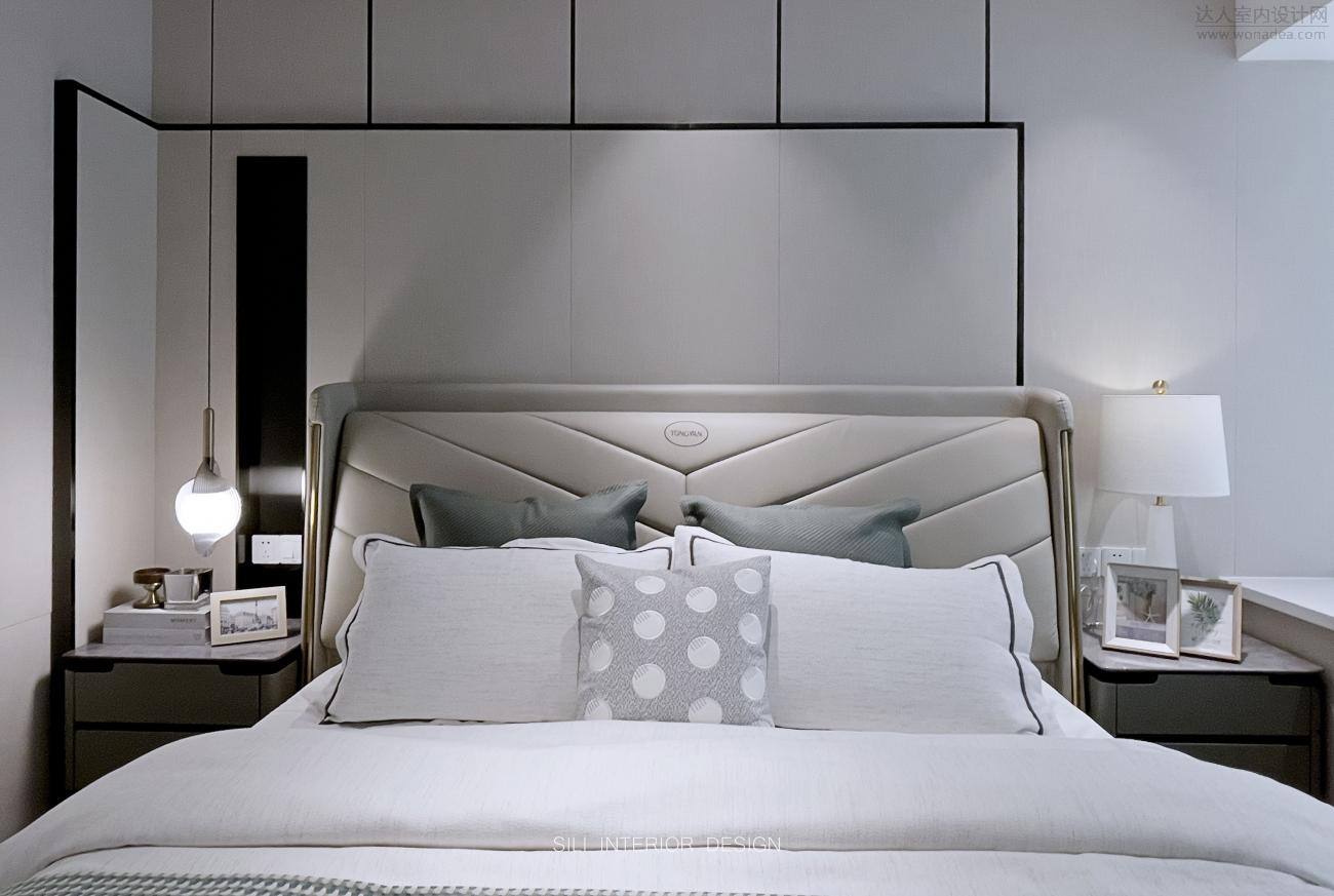 思丽设计作品   给您一个意式轻奢极简的家