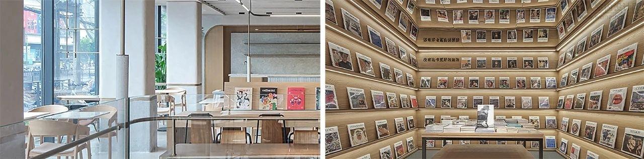 WJID维几设计--上海幸福集荟?谊园400㎡书店