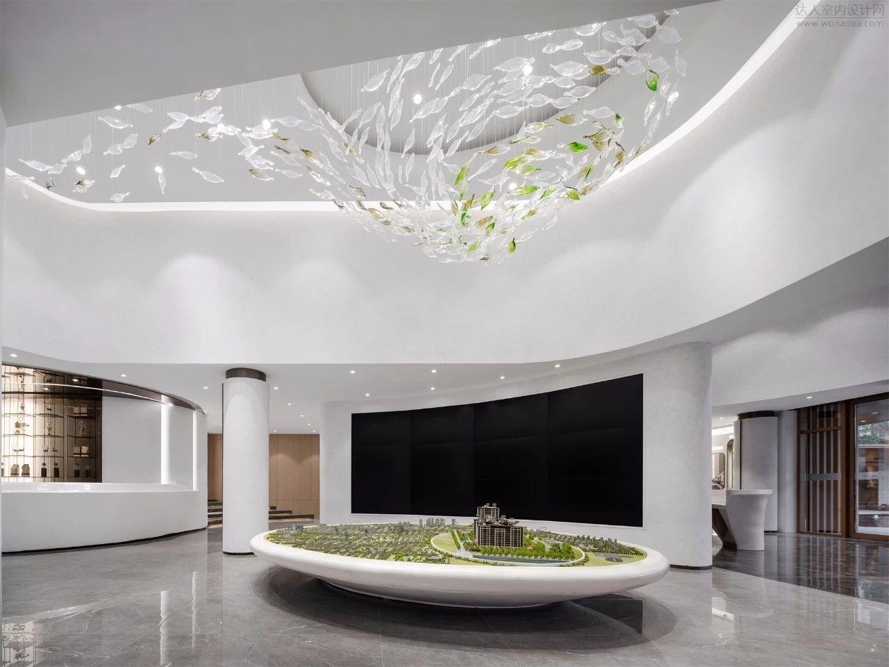 赛拉维设计--上海松江景瑞江山悦售楼处