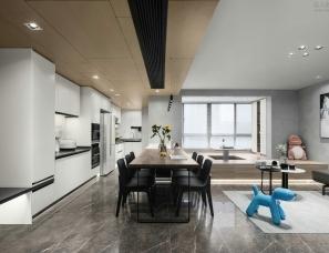 莫见法则设计--现代简约风住宅,回归生活本真!