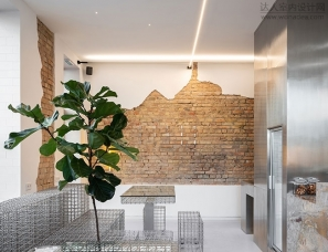 AKZ Architectura--基辅的一家极简主义咖啡馆