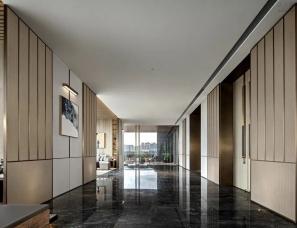 矩阵纵横设计--前海鸿荣源中心·胤璞公寓四层销售中心