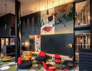 Pinch of Design--Radisson酒店大堂及餐厅