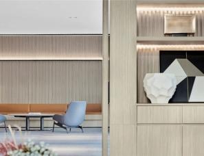 于强室内设计--直线设计呈现秩序美学