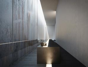 Trahan Architects--500平米极简单身住宅
