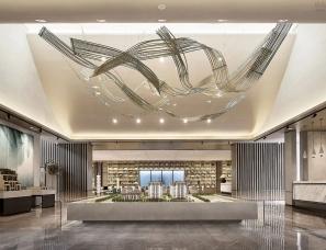 飞视设计--新城玺樾华庭售楼处