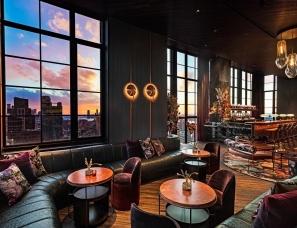 Yabu&Rockwell--Moxy Hotel,时尚复古的魅力