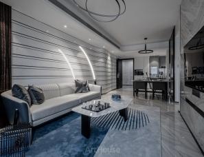 香港刘伟婷设计+艺居设计 | 深圳大族云峰两套样板房