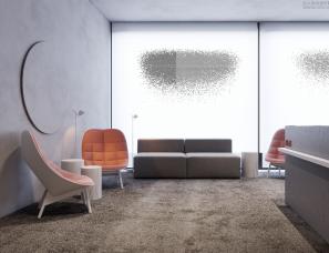 En Eimis--灰粉色调·国外优雅办公空间