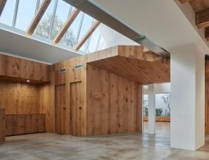RO_AR Szymon Rozwalka architects--瑜伽花园&Brno艺术画廊