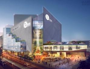 Tx淮海剧汇:购物中心设计融合多媒体,更新潮更震撼!