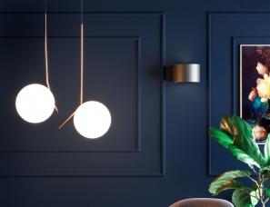 推荐两款玻璃球吊灯,希望大家喜欢,有现货