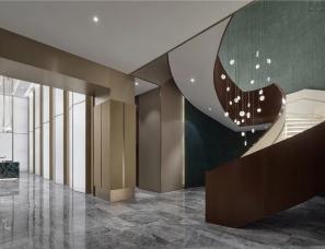 于强室内设计师事务所--青岛金地自在城销售中心