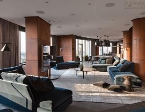 Sergey Makhno Architects--简约单身公寓