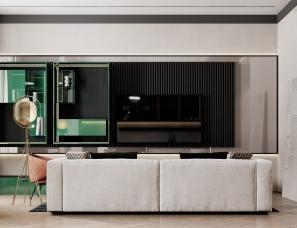 Alex Sculdn设计--多彩混搭公寓