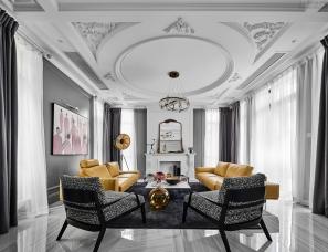 安生设计吴振宝--绍兴大滩六号院600+㎡别墅