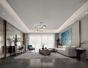 纳沃设计--福晟・云樾东升样板间145m²