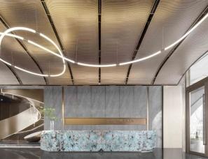 尚石设计--旭辉阜阳双清江来售楼处、微笑餐厅