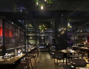 长沙餐饮空间设计,黄记煌·菊庭