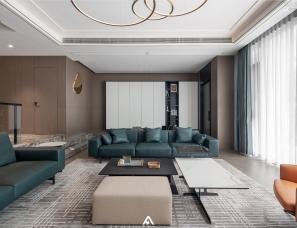 南昌阿鹤设计 |动线与空间的平衡表达  构造精致生活的家