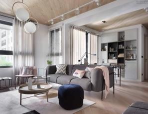 新澄设计--斯堪地那维亚风住宅
