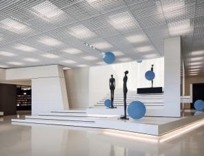 德方圆设计--石家庄中央商务区规划展示中心