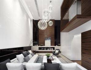 SNP尚诺柏纳设计--保利叁仟栋C户型别墅