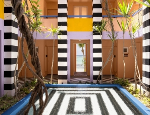 Camille Walala设计--SALT of Palmar Hotel